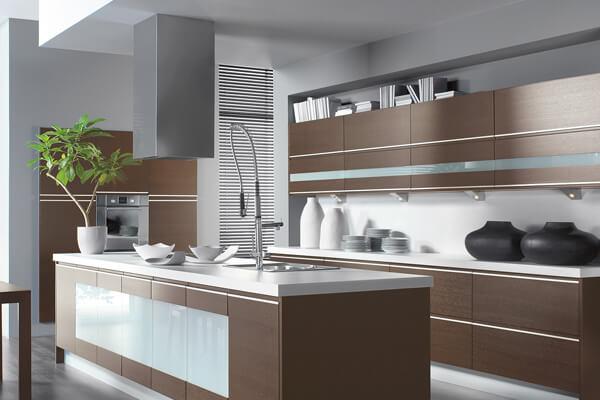 стиль хай-тек на кухне фото