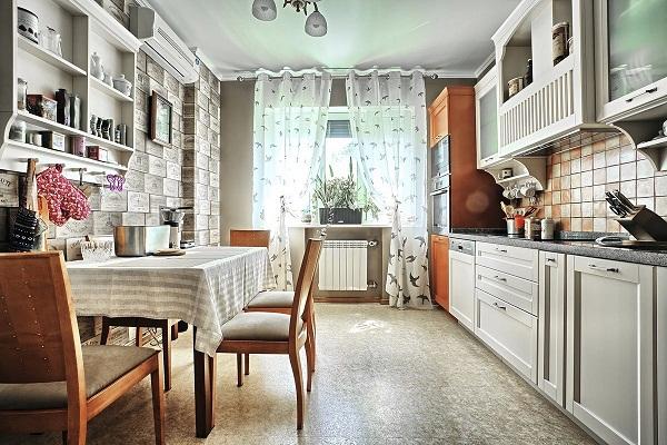 кухня в стиле прованс фото интерьер