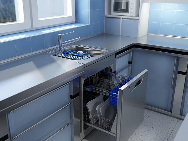 посудомоечная машина под раковиной фото