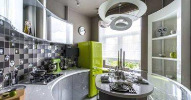 Дизайн-проект интерьера маленькой кухни