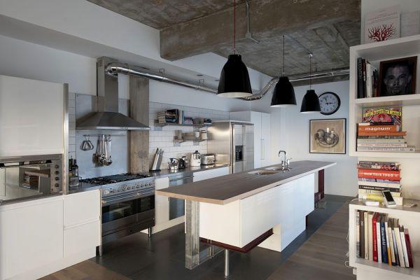 вентиляция на кухне студии