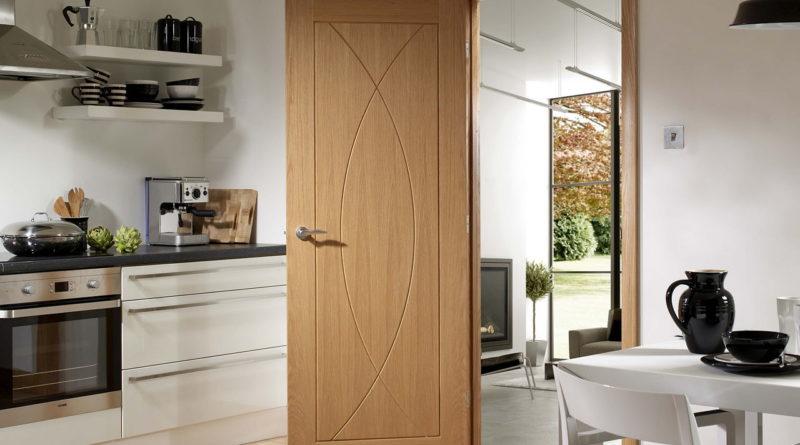межкомнатная дверь на кухне