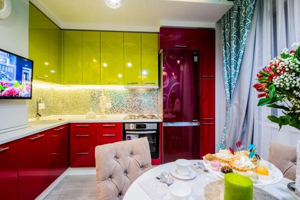 недорогой и стильный ремонт на кухне