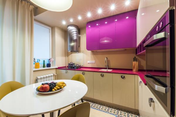 стиль для кухни 9 кв. м