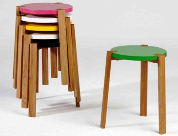 кухонные стулья один в другой