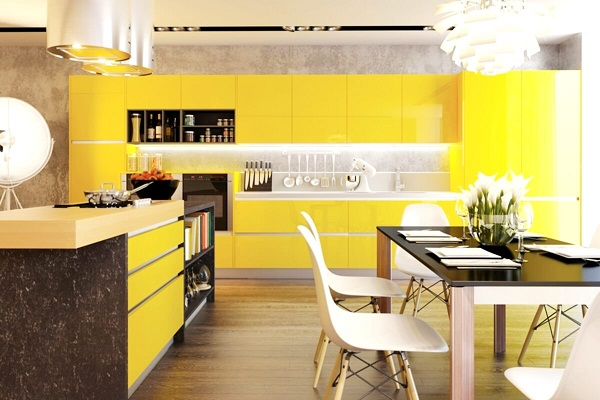 Цветовые решения для интерьера кухни
