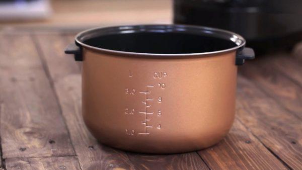 Чаша из керамики