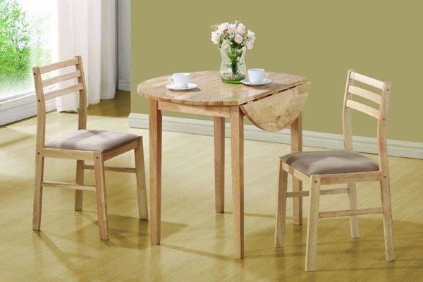 по каким параметрам выбирать стол для маленькой кухни