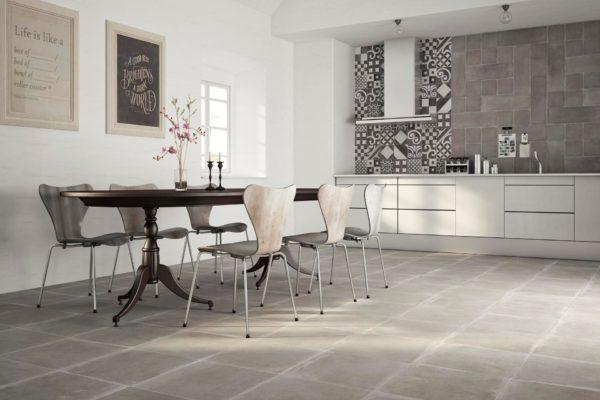 Керамическая плитка кухне фото в интерьере