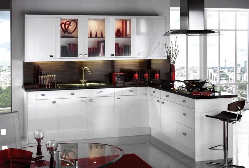 Современный дизайн белой кухни – это признак изысканности и аристократизма