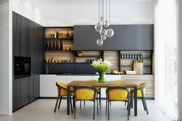 дизайнерских кухонь