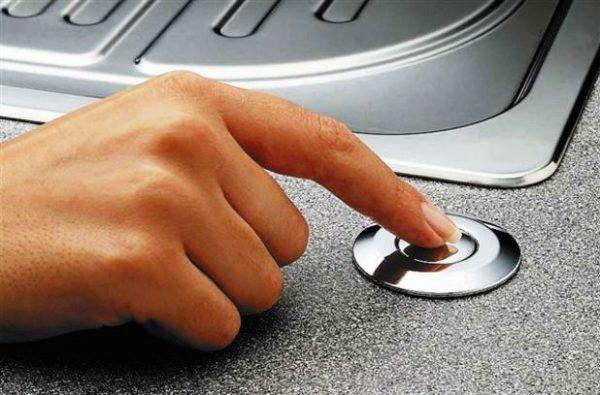 Диспоузер с кнопкой
