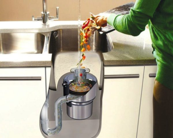 Диспоузер на кухне