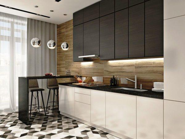Кухня в современном стилек