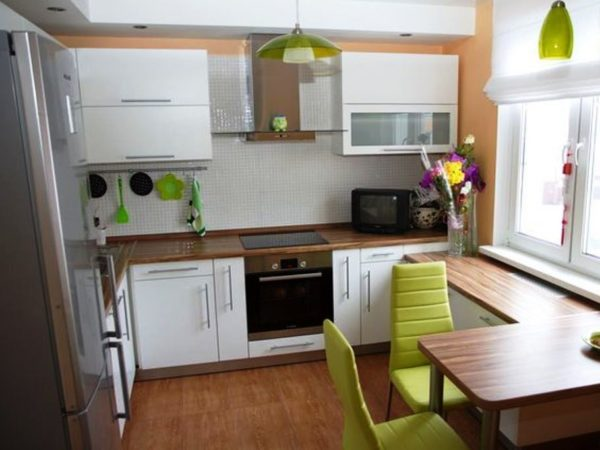 Расширене пространства на кухне
