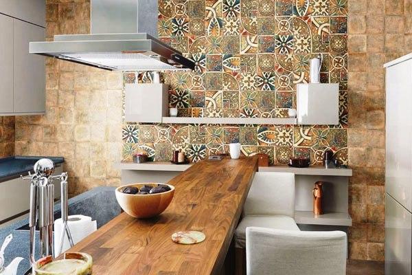 Керамичксуая плитка для кухни
