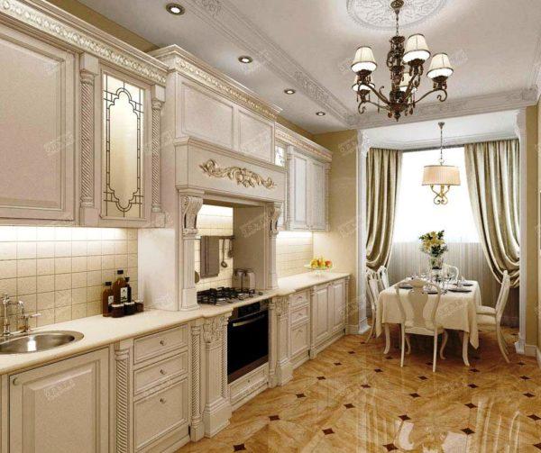 Дизайн кухни в классическм стиле