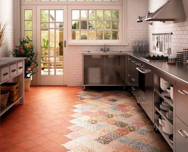 Полы на кухне 1