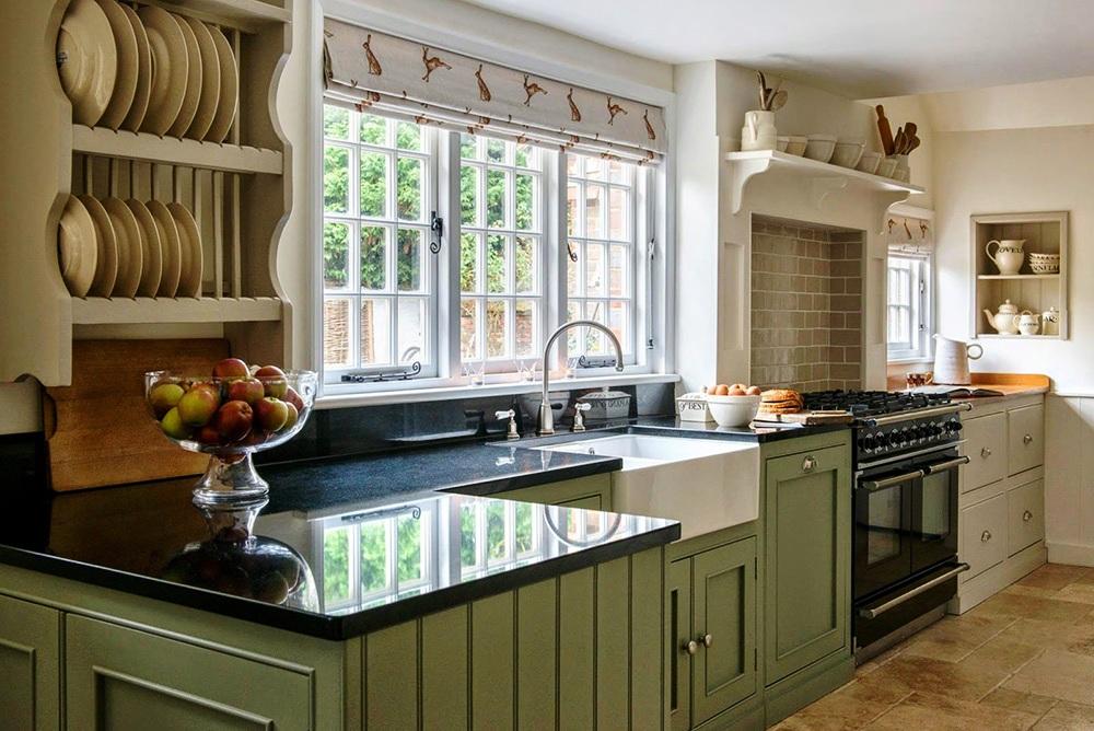 Современный кухонный дизайн прекрасно и интересно сочетается с этническими элементами и мотивами