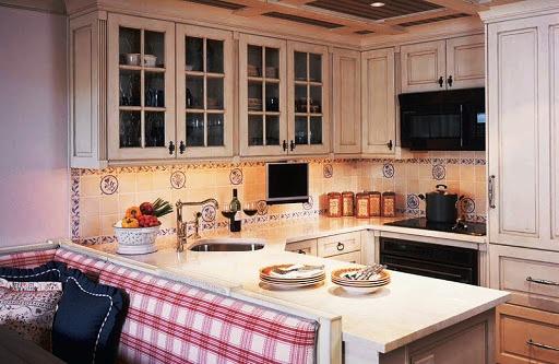 Ретро стиль на кухне