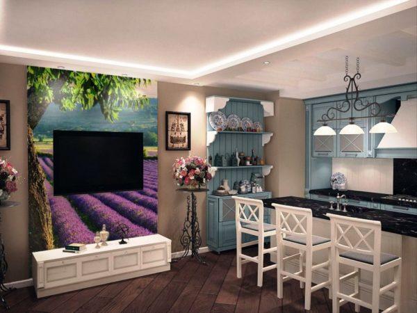 Цветочный принт всегда в моде и подходит как для классических интерьеров, так и для деревенских стилей