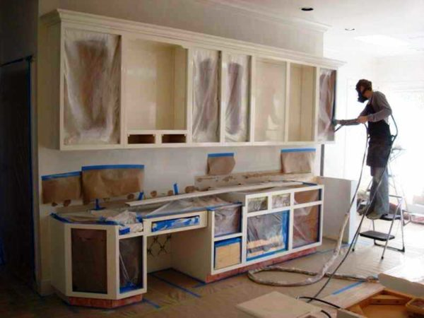 Покраска кухоннгого гарнитура