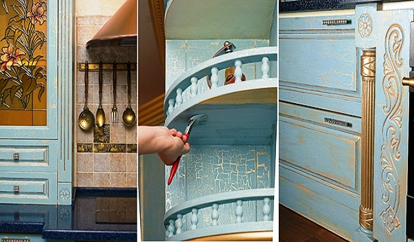 Как покрасить мель на кухне