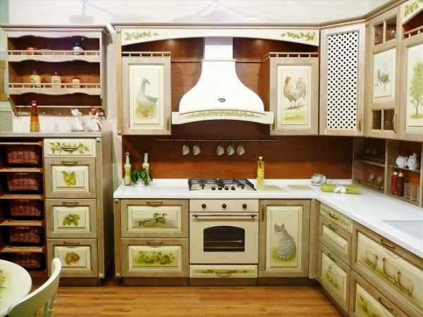 Декупаж кухни