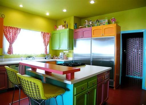 Как покрасить кухонную мебель