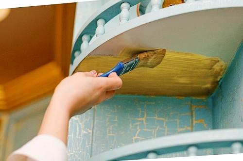 Краска для мебели на кухне