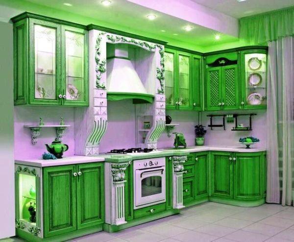 Как покрасить кухню