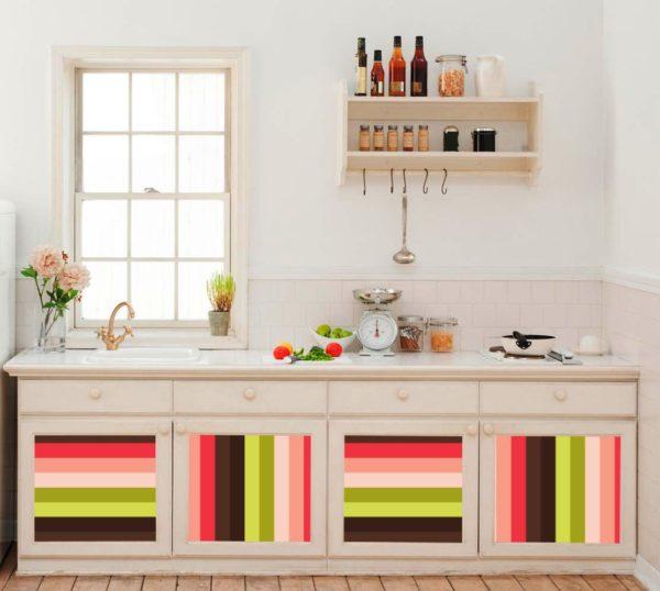 Покраска мебели на кухне