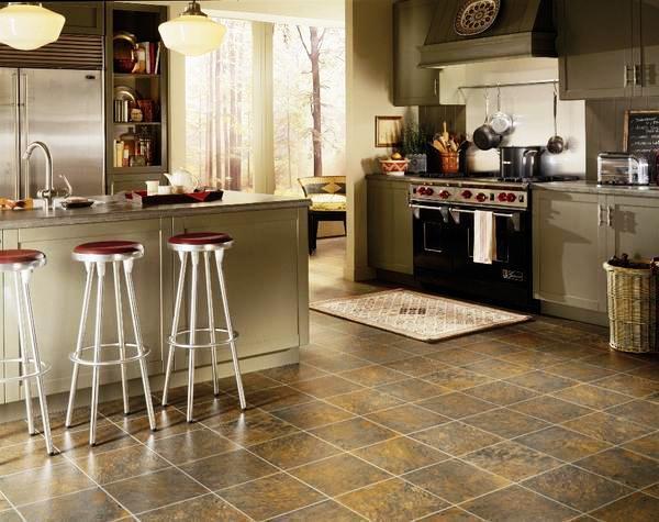 Линолеум для кухонного пола