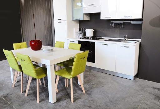 Декоративное покрытие из бетона для кухонных полов