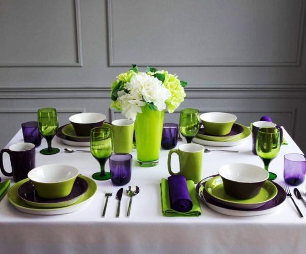 Самая прочная и удобная фаянсовая посуда – посуда с утолщенными и закругленными краями