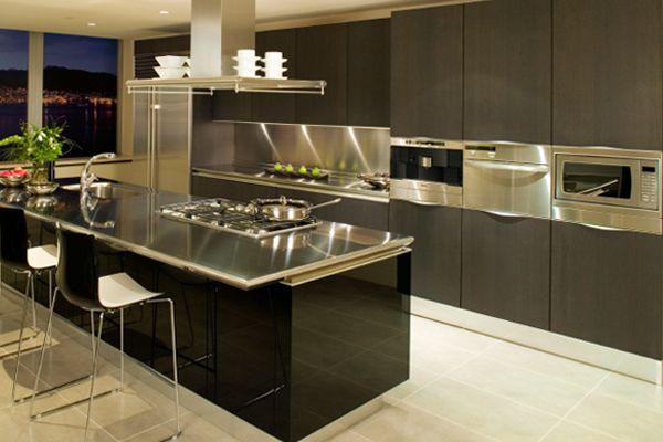 Кухонная мебель из стали