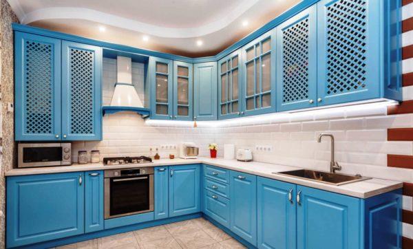 Кухонные фасады из крашенного МДФ