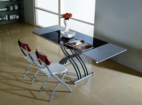 Особенности моделей столов-трансформеров для кухни