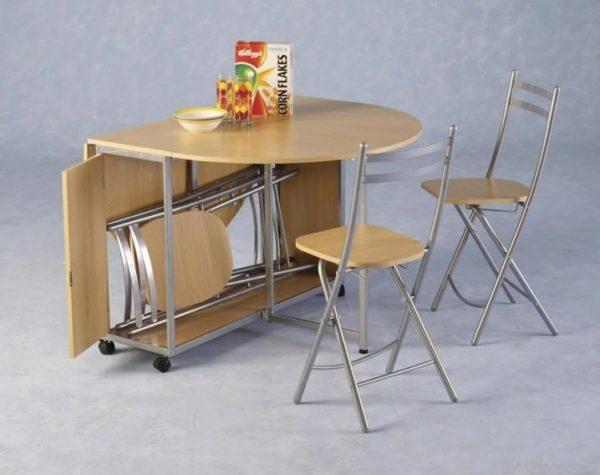 Кухонные столы для маленькой кухни: какой стол и стулья выбрать для малогабаритной кухни | ВАША КУХНЯ