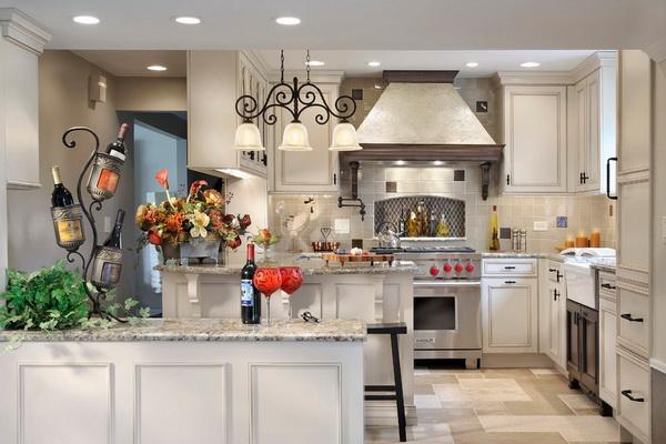 Какие элементы интерьера должны быть на современной кухне