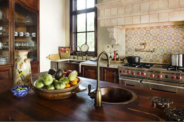 Металл в кухонном интерьере