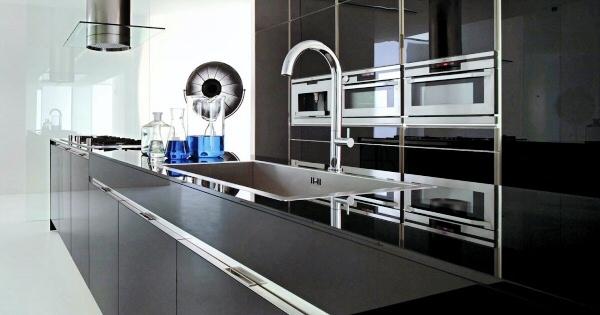 Кухня в техностиле