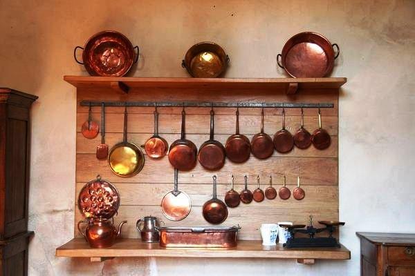 Латунная посуда