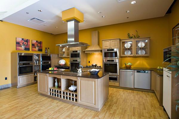 Выбор краски для кухни