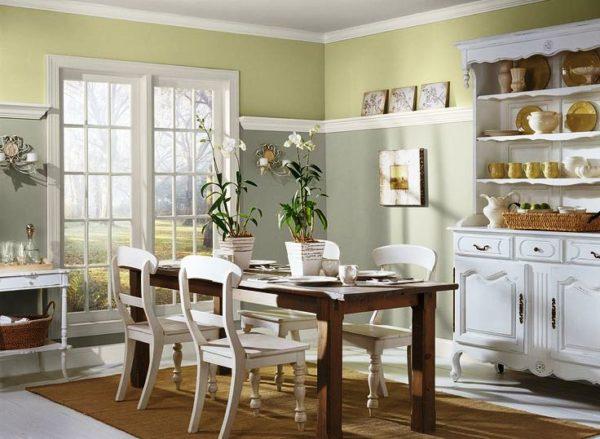 Светлая краска для кухни