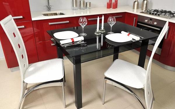 Какой цвет стола выбрать для интерьера маленькой кухни