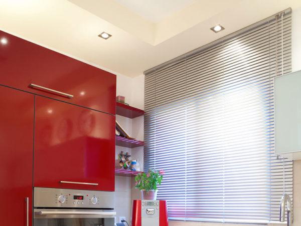 Алюминиевые жалюзи на кухню
