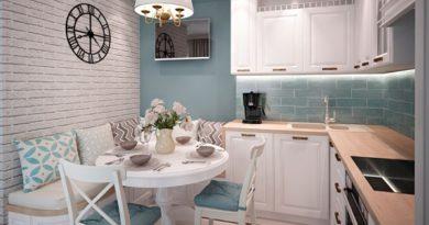 Дизайн интерьера кухни 8 кв
