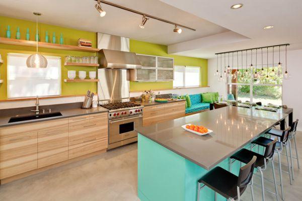 Выбор цветового решения при составлении проекта дизайна интерьера кухни