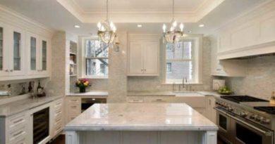 гипсокартонные потолки на кухне